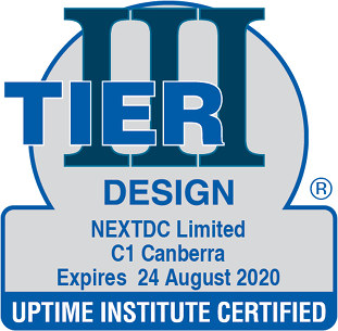 Uptime Institute certified Facility C1 Canberra, Tier III, Design, 2020