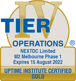 Uptime Institute certified GOLD operations M2 2022