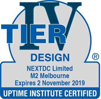 Uptime Institute certified Design M2 2019