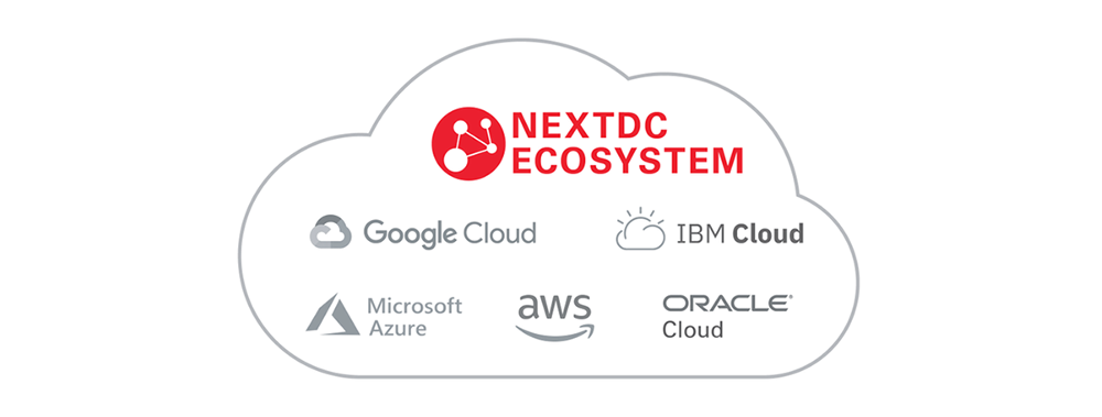NEXTDC ecosystem: connect to your clouds