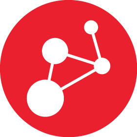 Red icon representing high-performance scalable connectivity solutions