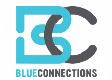 Blue Connections Logo